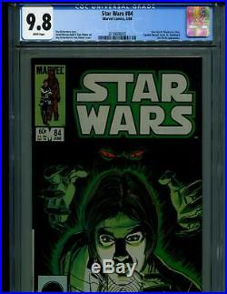 1984 MARVEL STAR WARS #84 HAN SOLO & CHEWBACCA CGC 9.8 ONLY 23 9.8s ON CENSUS