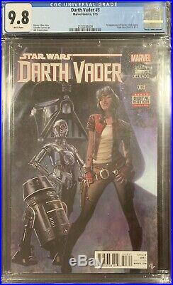 (2015) Star Wars DARTH VADER #3 1ST PRINT! 1st Dr Aphra! CGC 9.8