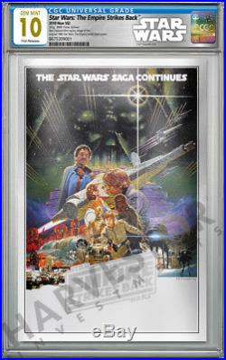 2018 Star Wars Empire Strikes Back Silver Foil Cgc 10 Gem Mint First Release