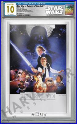 2018 Star Wars Return Of The Jedi Silver Foil Cgc 10 Gem Mint First Release