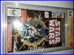 3x Signed Daniels Williams Mayhew Star Wars #1 Marvel Movie Showcase CGC SS 9.0