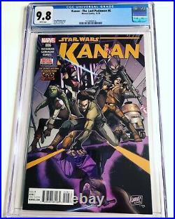 CGC 9.8 Kanan The Last Padawan #6 1st full Sabine Wren Star Wars White Pages