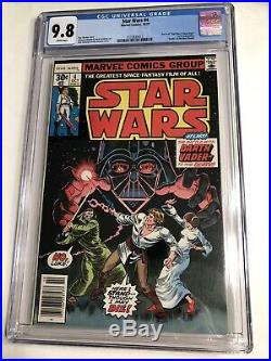 CGC 9.8 Star Wars #4 1977 White Pages Death of Obi-Wan Kenobi A New Hope part 4