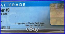 CGC 9.8 Star Wars Darth Vader #3 125 Larroca Variant 1st Doctor Aphra 2015