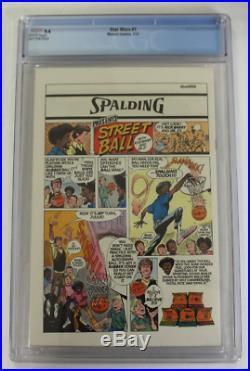 CGC Graded 9.4 NM, Marvel Star Wars #1, 1977, Roy Thomas Story, H Chaykin Art