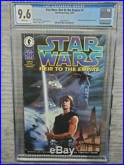 CGC Graded 9.6 Star Wars Heir to the Empire #1 Dark Horse Comics 1995