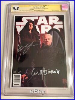 CGC SS 9.8 Star Wars Insider #147 Variant signed by Christensen & McDiarmid