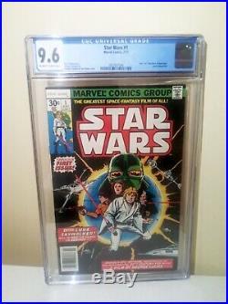 CGC Star Wars #1 9.6 Comic Book High Grade Landmark First Issue Howard Chaykin