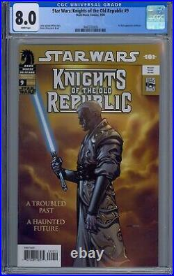 Cgc 8.0 Star Wars Knights Of The Old Republic #9 1st Full Revan Appearance 2006