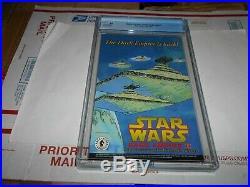 Classic Star Wars Return Of The Jedi #1 Cgc 9.8 (adam Hughes Slave Leia Cover)