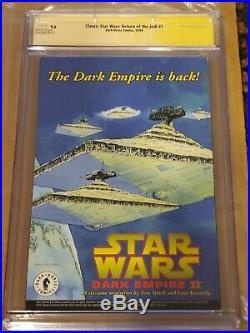 Classic Star Wars Return of the Jedi #1 CGC 9.6 SS Adam Hughes Slave Leia