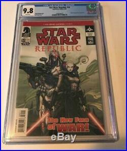 Dark Horse STAR WARS REPUBLIC #52 CGC 9.8 FIRST COVER APPEARANCE ASAJJ VENTRESS