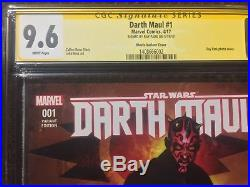 Darth Maul 1 CGC 9.6 SS Signed By Ray Park Photo Variant