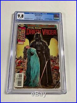Darth Vader 1 Cgc 9.8 WP Mark Brooks Variant Marvel 2017