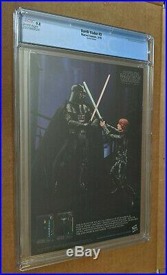Darth Vader #3 125 Larroca Variant 1st appearance Dr Aphra Key CGC 9.8 NM+/M