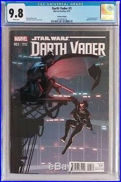 Darth Vader 3 125 Salvador Larroca Variant Cover CGC 9.8 Doctor Aphra Star Wars