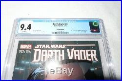 Darth Vader #3 CGC 9.4 Larocca Variant 1st Doctor Aphra