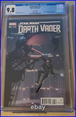 Darth Vader #3 (CGC 9.8) 125 Larroca Variant Dr. Aphra star wars variant