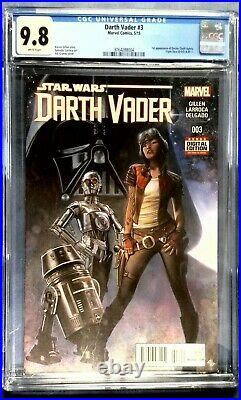 Darth Vader #3 CGC 9.8 1st Appearance of Doctor Chelli Aphra
