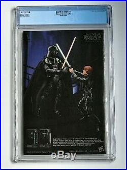Darth Vader #3 CGC 9.8 1st Doctor Aphra Variant Cover WHITE Pages Marvel Comics