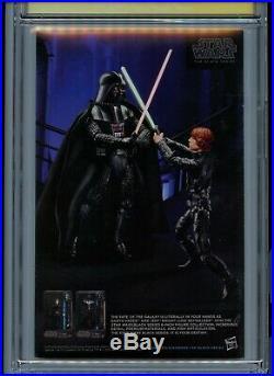 Darth Vader #3 CGC 9.8 First App. Dr. Aphra Signed 3x Granov, Gillen, Delgado