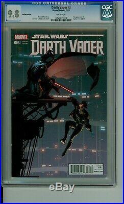 Darth Vader 3 CGC 9.8 Variant 125 Dr Aphra, 0-0-0 & BT-1 CBCS @Guardian Comics