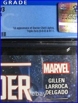 Darth Vader #3 CGC 9.8 WP (Marvel 5/15) 1st App Aphra, Triple Zero, BT-1