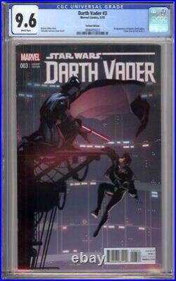 Darth Vader #3 Cgc 9.6 125 Variant Edition 1st Doctor Aphra Triple Zero Bt-1