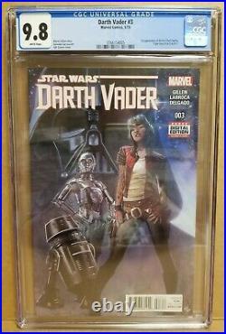 Darth Vader #3 Cgc 9.8 1st Appearance Doctor Aphra, Triple Zero & Bt-1 Star Wars