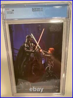 Darth Vader #3 Cgc 9.8 1st Print 1st Doctor Aphra, Triple Zero & Bt-1 Star Wars