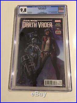 Darth Vader #3 Cgc 9.8 2015 White Pages 1st Appearance Of Doctor Aphra