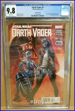 Darth Vader #3 Cgc 9.8 2nd Print 1st Doctor Aphra, Triple Zero & Bt-1 Star Wars