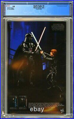 Darth Vader #3 Cgc 9.8 2nd Print Nm/mt 1st Doctor Aphra Triple Zero Bt-1
