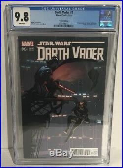Darth Vader #3 Larroca Variant Cgc 9.8 White Pages 1st Doctor Aphra