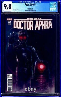 Doctor Aphra #1 CGC 9.8 ROD REIS 125 VARIANT BT-1 0-0-0 DROID COVER TOP CENSUS
