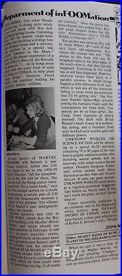 FOOM #15 Howard Duck 9/1976 1st app MS MARVEL Captain Britain STAR WARS CGC 9.8