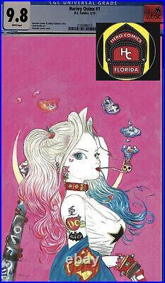 Harley Quinn #1 Amano Variant CGC 9.8 -Pre-sale