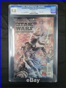 Journey To Star Wars Shattered Empire Lot Of 4 All Cgc 9.8 Beautiful
