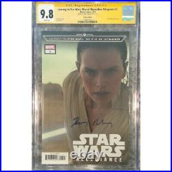 Journey to Star Wars Rise of Skywalker #1 photo cover CGC 9.8 SS Signed by Da