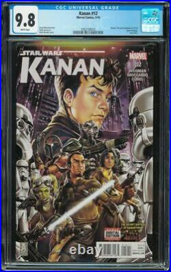 Kanan The Last Padawan 12 CGC 9.8 W 1st Admiral Rae Sloane and Grand Inquisitor