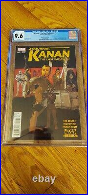 Kanan The Last Padawan #1 Cgc 9.6 Plunkett Variant 1st Sabine Wren