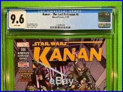 Kanan The Last Padawan 6 CGC 9.6 WHITE NM+ 1st Full Appearance of Sabine Wren
