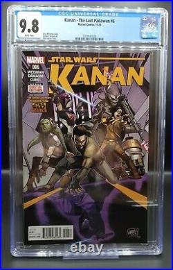 Kanan The Last Padawan #6 CGC 9.8 STAR WARS 1st appearance of Sabine Wren, Ezra
