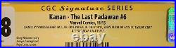 Kanan The Last Padawan #6 Cgc Ss 9.8 Signed By Cast Of Star Wars Rebels