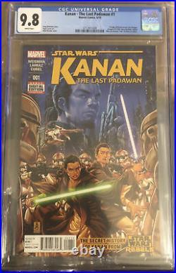 Kanan the Last Padawan 1 9.8 1st Appearance of Sabine Wren Mandalorian Star Wars