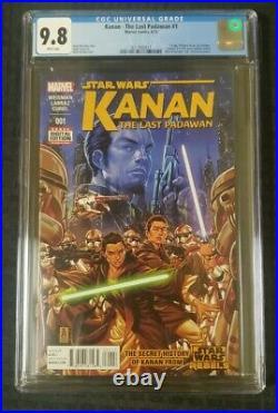 Kanan the Last Padawan 1 CGC 9.8 1st Appearance of Sabine, Kanan, Ezra Star Wars