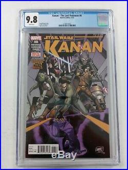 Kanan the last padawan 6 cgc 9.8 1st full app. Sabine wren and Ezra. 3708773002