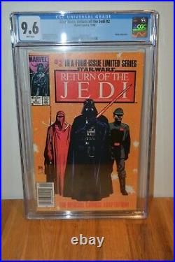 Lot of Return of the Jedi Comics Issues 1,2,3,4 CGC 9.6 ALL NEWSSTAND