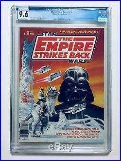 MARVEL SUPER SPECIAL #16, 1980, The Empire Strikes Back, 1st BOBA FETT, CGC 9.6