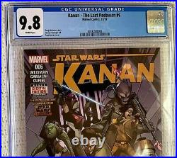 MarvelSTAR WARSKANAN The Last Padawan #6CGC 9.81st SABINE & REBELS Cover